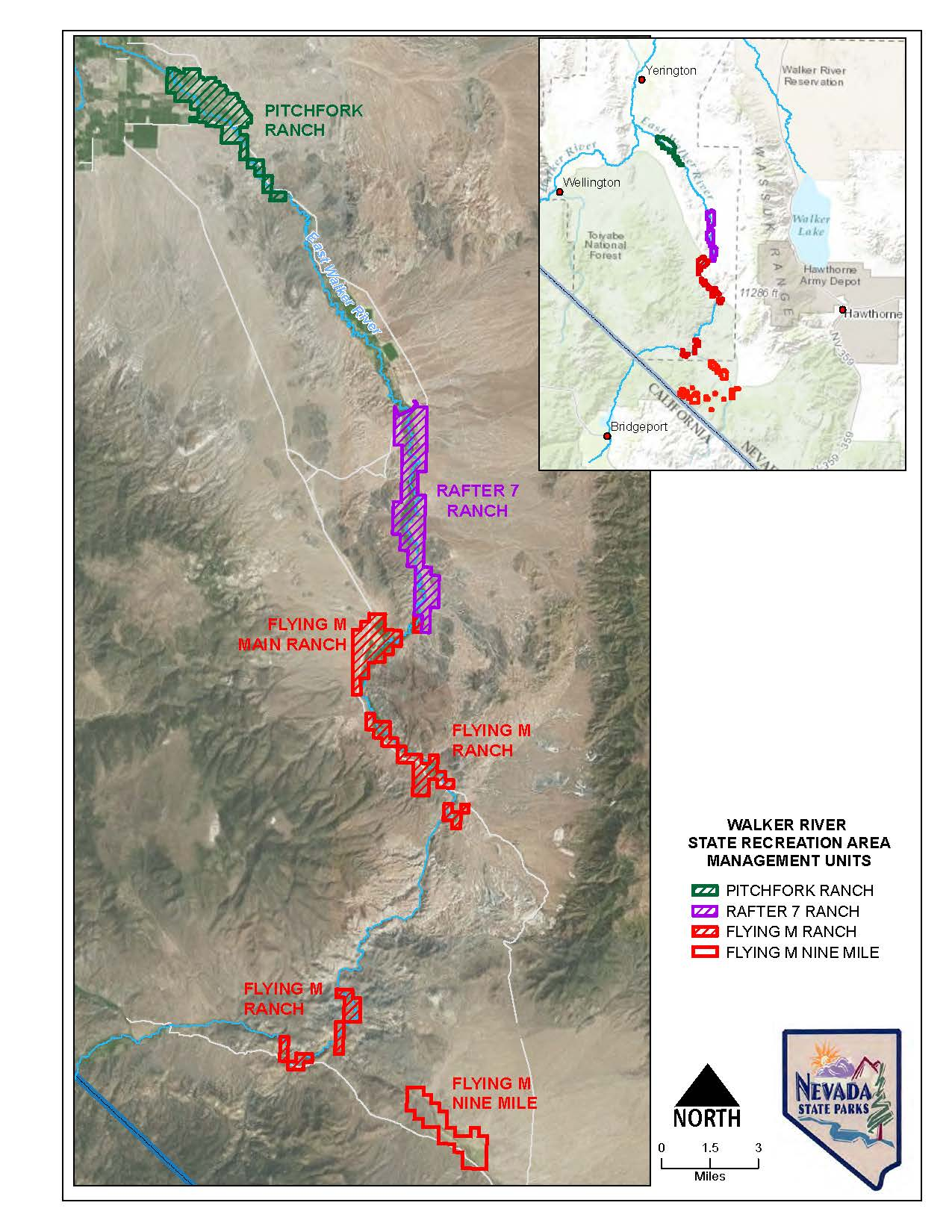 It s official nevada s getting new state parks for Walker river fishing